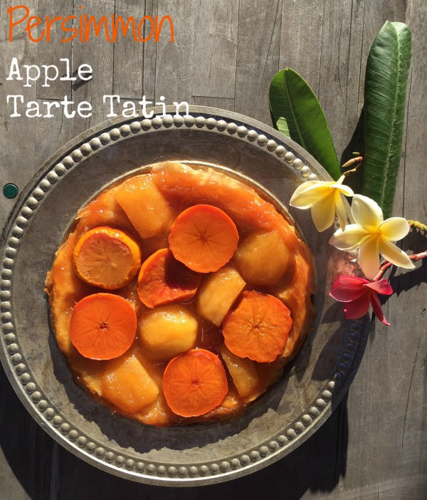 Post image for Persimmon and Apple Tarte Tatin