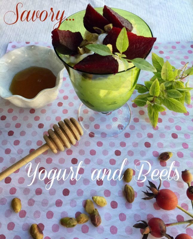 Post image for Savory Yogurt and Beets