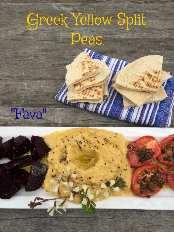 "Post image for Traditional Greek Yellow Split Peas ""Fava"""