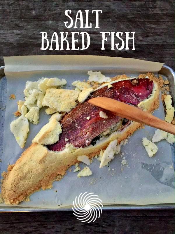 Post image for Favorite Salt Baked Fish