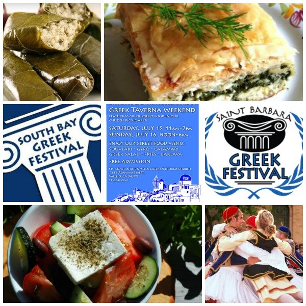 Post image for Greek Festivals in California for July 2017
