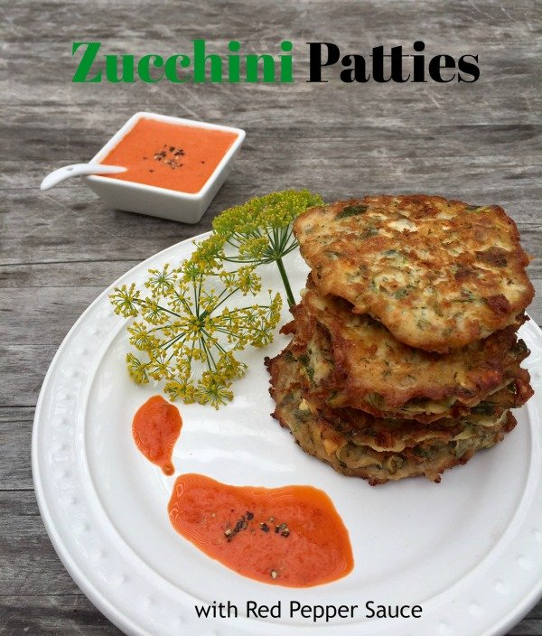"Post image for Feta Zucchini Patties "" Kolokythia Krokettes"""