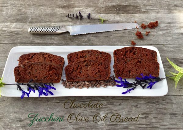 Post image for Chocolate Zucchini Olive Oil Bread