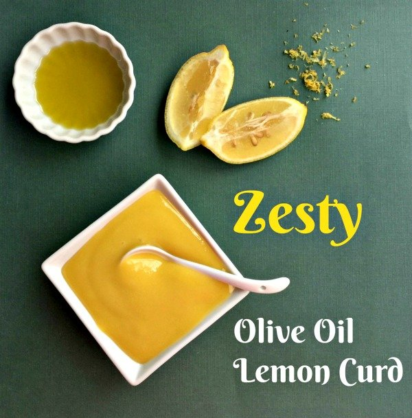 Post image for Zesty Olive Oil Lemon Curd