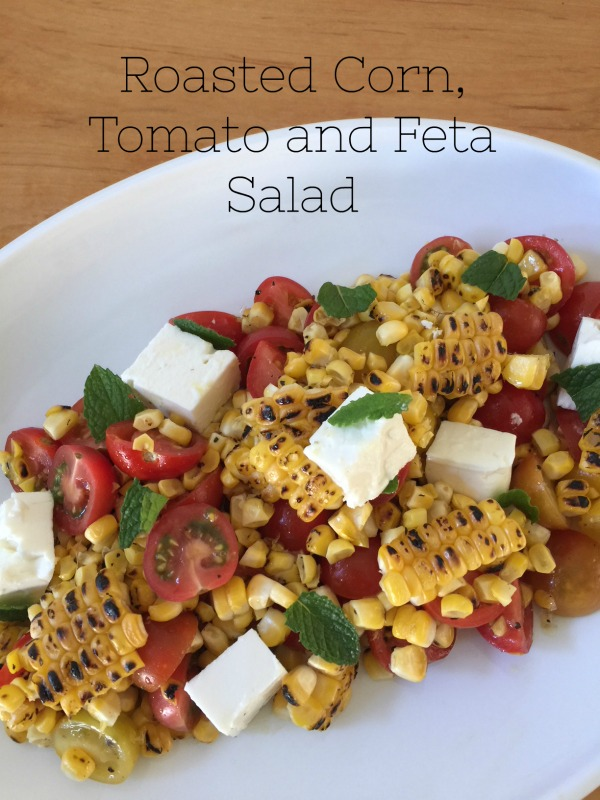 Post image for Roasted Corn, Tomato and Feta Salad with Ali Rosen