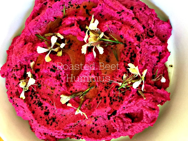 Post image for Roasted Beet Hummus