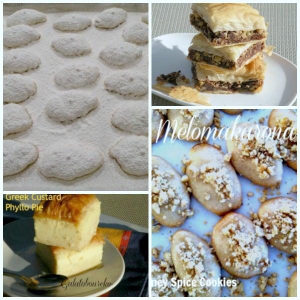 Post image for Greek Christmas Desserts