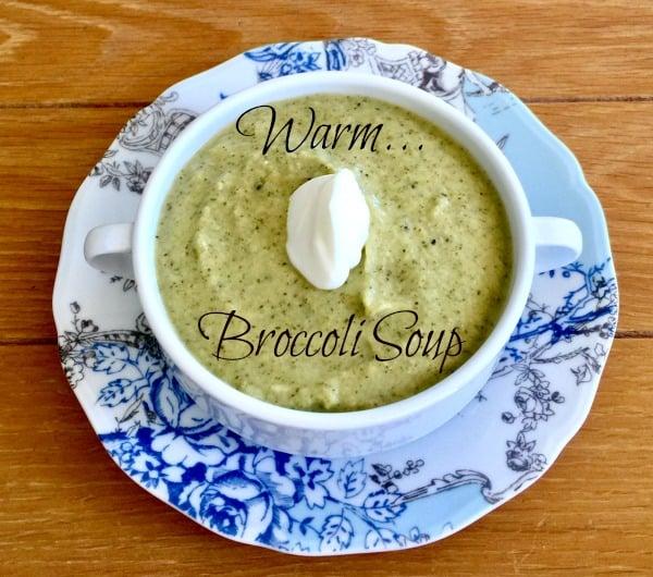 Post image for Why Do We Need Broccoli? and Warm Broccoli Soup
