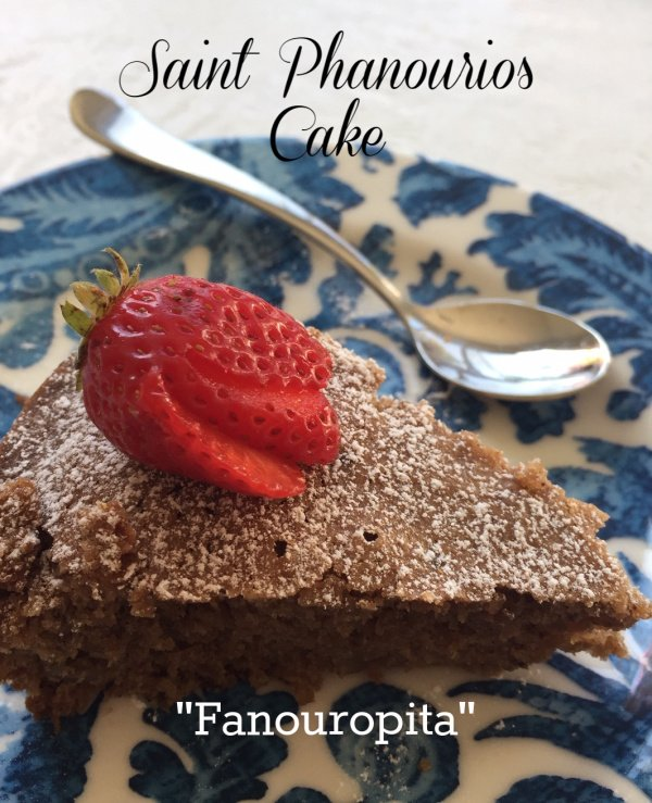 Post image for Fanouropita / Saint Phanourios Cake