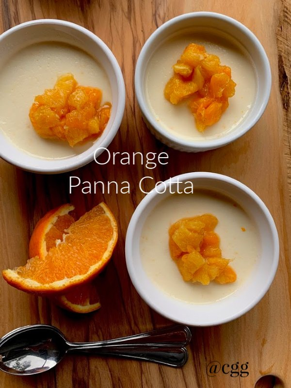 Post image for Orange Panna Cotta with Orange Compote