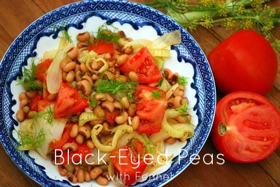 Post image for Discovering the Greek Diet- Black-Eyed Peas Recipe