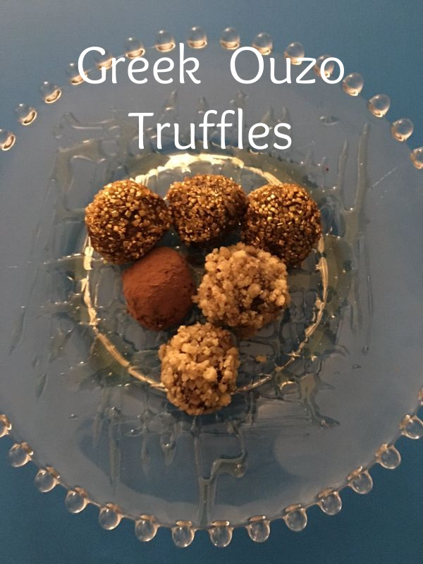 Post image for Ouzo Chocolate Truffles
