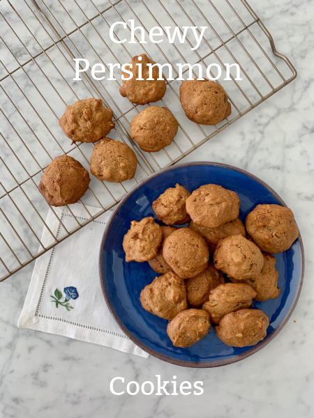 Post image for Chewy Hachiya Persimmon Cookies