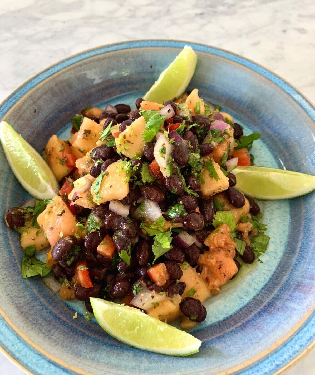 Post image for Papaya and Black Bean Salsa